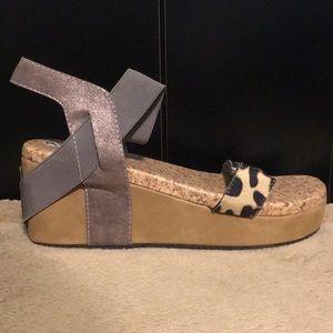 small heel wedges